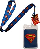 Lanyard with Charm DC Comics Superman Logo Lanyard