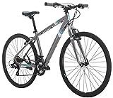 Diamondback Bicycles Calico St Women's Dual Sport Bike Small/16 Frame, Silver, 16'/ Small