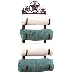Western Star Metal Towel Rack