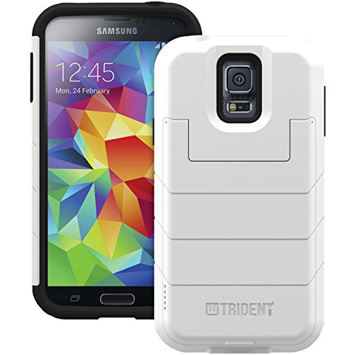 Trident Case Aegis Wallet for Samsung Galaxy S5 - Retail Packaging - White
