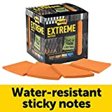 Post-it Extreme Notes, Stop Re-work on the Job, Works in 0 - 120 degrees Fahrenheit, Sticks where other notes can't, Orange, 3 in x 3 in, 12 Pads/Pack, 45 Sheets/Pad