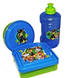 Blue and Green Paw Patrol Lunch Box Kit (3piece)