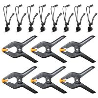 4.5 inch Heavy Duty Spring Clamps and Background Clips, Emart Heavy Duty Clip for Muslin Backdrop, Photo Studio…