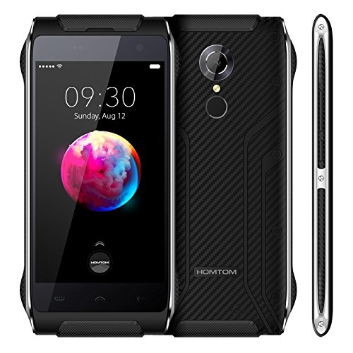 HOMTOM HT20 Pro Tri-proofing Phone 3GB + 32GB 4.7 inch IPS Screen, Android 6.0 MTK6753 Octa Core up to 1.3GHz WCDMA & GSM & FDD-LTE (Black)
