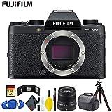 FUJIFILM X-T100 Mirrorless Digital Camera (Black) Master Bundle