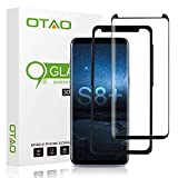 OTAO Galaxy S8 Plus Tempered Glass Screen Protector, [Case Friendly][Easy Installation Tray] 3D Curved Tempered Glass Screen Protector for Samsung Galaxy S8 Plus