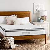 WEEKENDER 10 Inch Hybrid Mattress - Memory Foam and Motion Isolating Springs - Medium-Firm - 10-Year Warranty - King