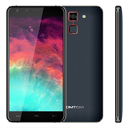 HOMTOM HT30 1GB + 8GB 5.5 Inch 2.5D Android 6.0 MTK6580 Quad Core up to 1.3GHz WCDMA & GSM (Dark Blue)