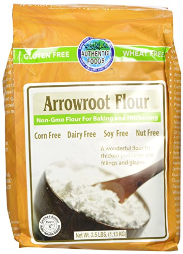 Authentic Foods Arrowroot Flour, 2.5 lbs