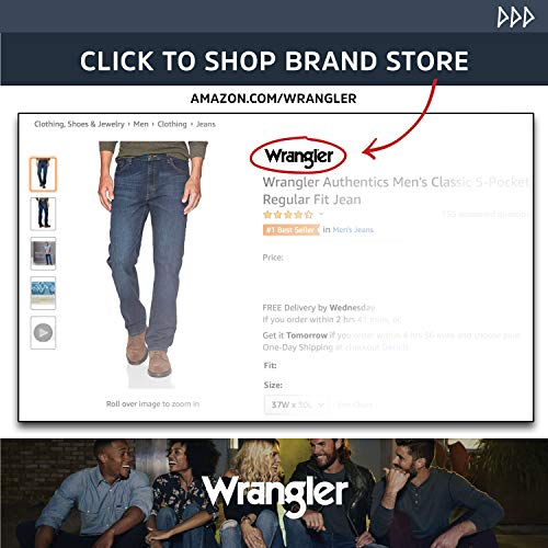 Wrangler Authentics Men's Relaxed Fit Jean 16 Fashion Online Shop gifts for her gifts for him womens full figure