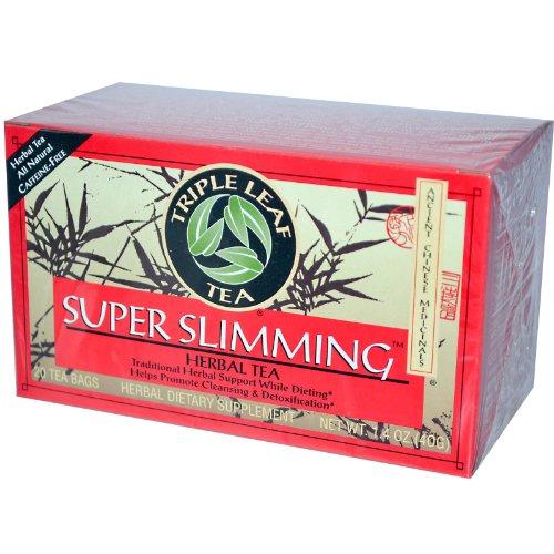 Super Slimming Tea By Triple Leaf Tea - 20 Bags 1