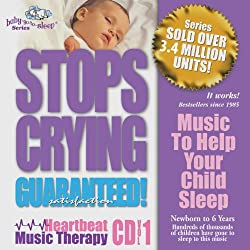 "Baby-Go-To-Sleep ""Stops Crying"" Original Heartbeat Lullabies"