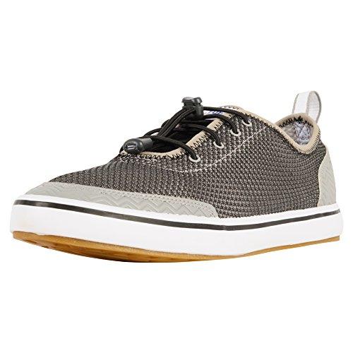 XTRATUF Riptide Men's Airmesh Deck Shoes, Black & White (22000)