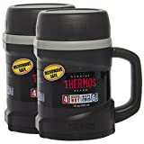 Thermos (2 Pack) 16oz Hot & Cold Vacuum Insulated Microwaveable Food Jars Travel Storage Containers