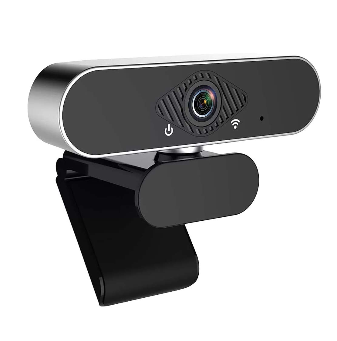 TECHNOVIEW 1080P Webcam with Microphone and Auto Focus | Full HD USB Web Camera with Tripod | Streaming Webcam for Desktop,PC or Laptop Video Calling Recording Conferencing | Plug and Play Web Camera