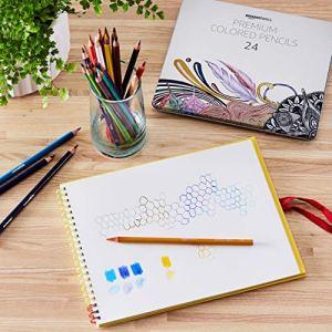 AmazonBasics Colored Pencils – 24-Count Set