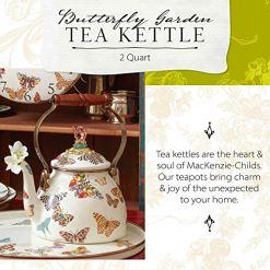 MacKenzie-Childs Butterfly Tea Kettle
