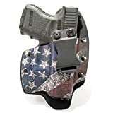 Infused Kydex USA Slanted Flag IWB Hybrid Concealed Carry Holster (Right-Hand, Kel-Tec P11)