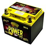 Stinger SPV44 660-Amp Power Series Dry Cell Battery with Protective Steel Case for Systems Up to 1320-Watt