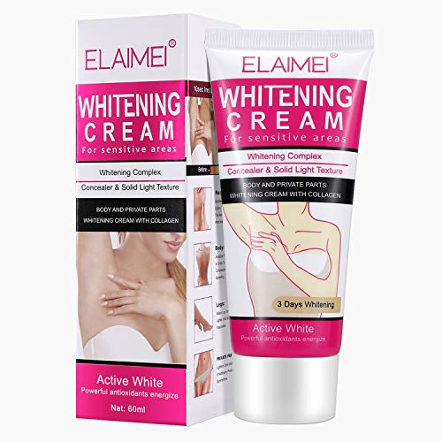 Underarm Whitening Cream, MayBeau Natural Skin Lightening Cream Armpit Whitener Body Deodorant Brightening Cream Repairs Bikini Sensitive Area Intimate Private Parts Between Legs Knees