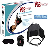 Pain Gone Solutions Neck Pain Relief Hammock Portable Cervical Traction Device with Free Healing Backpain Ebook | Neck Back Pain Relief Solution Physical Therapy | Neck Back Head Relaxation Sling