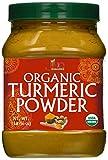 Organic Turmeric Powder - 1LB Jar - 100% Raw w/Curcumin From India - by Jiva Organics