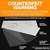 UPPERCASE Premium Ultra Thin Keyboard Protector for Macbook Pro with Retina Display 13 - 15 Inches, Fits 2012-2018 Retina MacBook Pro 13