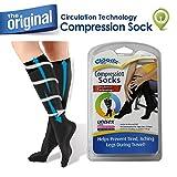 Cloudz - Compression Flight Socks - Large (Unisex) - (Men's Shoe Size 9-12, Women's Shoe Size 10-13)