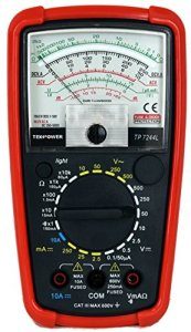 Tekpower 7-Function 20-Range Analog Multimeter, TP7244