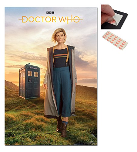 Doctor Who 13th Doctor Jodie Whittaker Poster - 91.5 x 61cms (36 x 24 Inches)