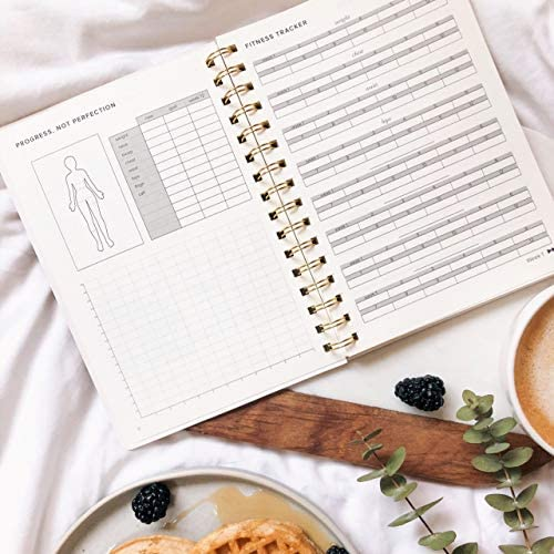 Food and Exercise Journal for Women. Track Meals, Nutrition and Weight Loss - 90 Days (Pink) 5