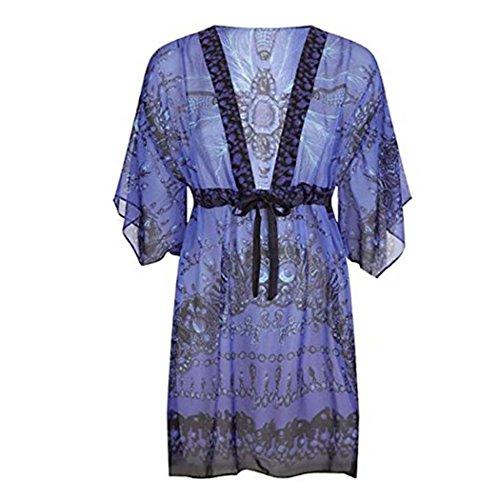 61JBI4Tna8L Fabric: 100% Silk Color : Blue/Multi Dry clean