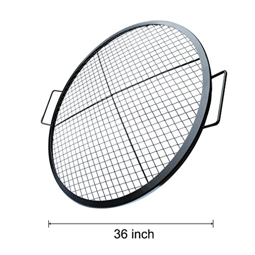 Stanbroil Heavy Duty X-Marks Round Fire Pit Cooking Grate