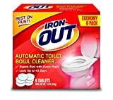 Iron OUT Automatic Toilet Bowl Cleaner, 1 Pack, 6 Tablets