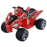 Giantex Kids Ride On ATV Quad 4 Wheeler Electric Toy Car 12V Battery Power Red