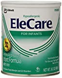 EleCare For Infants Hypoallergenic Powder with DHA/ARA, 14.1OZ (Pack of 6)