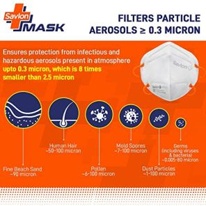 Savlon-Mask-Pack-of-12-BIS-Certified-FFP2-S-Mask-comparable-to-N95-Head-band-model-with-adjustable-straps