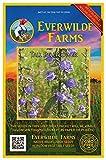 Everwilde Farms - 2000 Tall Bellflower Native Wildflower Seeds - Gold Vault Jumbo Seed Packet