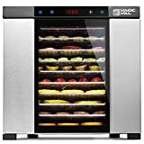 Magic Mill Pro Countertop Electric Food Dehydrator, (Stainless Steel)
