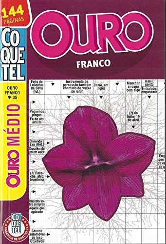 Palavras Cruzadas Coquetel Ouro Franco nº 35 - 144 páginas