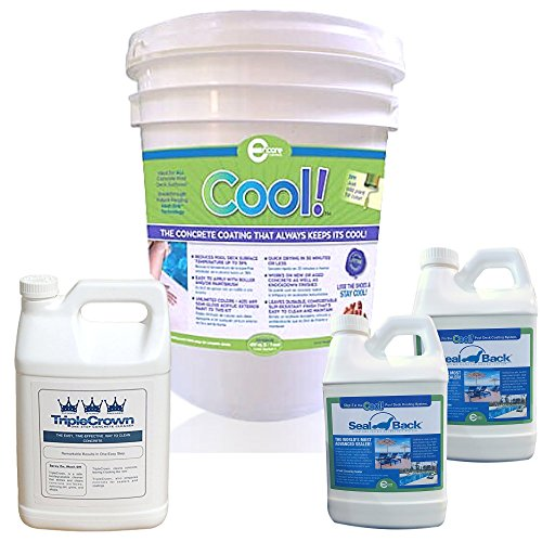 COOL by the Bundle - Cool Pool Deck Coating, TripleCrown, SealBack