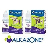 ALKAZONE Balance Your pH Antioxidants Alkaline Mineral Booster & Supplements (2 Packs)