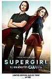 RARE POSTER thick SUPERGIRL wb show DC COMICS new REPRINT #'d/100!! 12x18