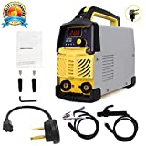 ARC Welding Machine, 200Amp Power, IGBT AC-DC Dual Voltage (110/220V) Beginner Welder Use Welding Rod Equipment Tools Accessories