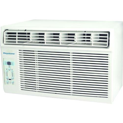 Keystone KSTAW12B 12,000 BTU 115V Window-Mounted Air Conditioner with 'Follow Me' LCD Remote Control