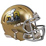 Riddell Super Bowl 50 Mini Speed Football Helmet