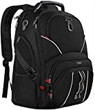 Extra Large Backpack,TSA Friendly Laptop Backpack, Anti-Theft Water Resistant Business College Bookbag Computer Backpacks with USB Charging Port/Headphone Hole,Fit Most 17 Inch Laptop&Notebooks, Black