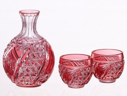 Edo-kiriko (Sake Glass Assort Set)#2592