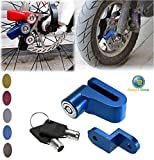 Canopus Motorcycle Bicycle Security Wheel Disc Brake Lock Bike Anti-theft (Black)