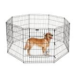 Pet Trex 30' Playpen for Dogs Eight 24' Wide  x 30' High Panels